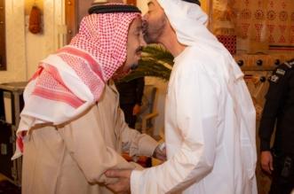 الملك يستقبل ولي عهد أبو ظبي في قصر العوجا - المواطن