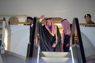 شاهد.. لقطات مغادرة الملك سلمان تبوك متوجهًا إلى الجوف - المواطن