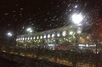 فيديو وصور.. أمطار الرياض تتواصل الآن - المواطن
