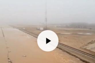 فيديو.. مدني القريات يخلي قرية غطي بعد سيول القريات - المواطن