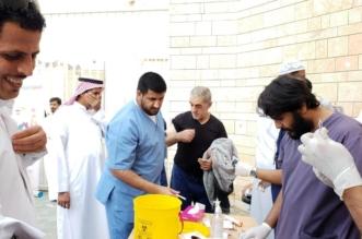 حملة تطعيم ميداني ضد الإنفلونزا الموسمية في الطائف عبر 121 مركزًا صحيًّا - المواطن
