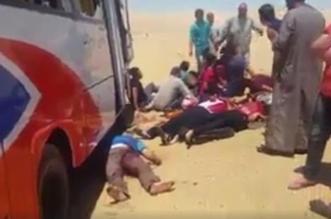 داعش يتبنى الهجوم على حافلة الأقباط في المنيا المصرية - المواطن
