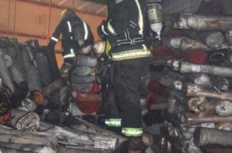 حريق بمستودع مفروشات في حي الفيصلية بدون إصابات - المواطن