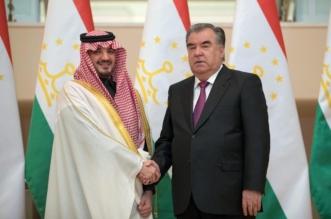 رئيس طاجيكستان يستقبل وزير الداخلية ويستعرض معه العلاقات الثنائية - المواطن