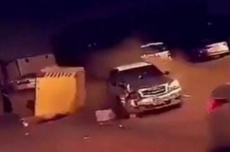 سقوط مفحطي جدة - المواطن
