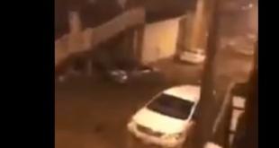 فيديو.. سيول قوية تجرف المركبات بوادي جليل في مكة المكرمة