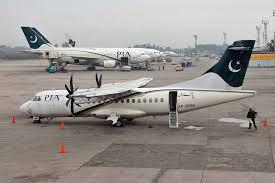 تصادم طائرتي ركاب في مطار جنة باكستان
