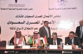 لقاء الأعمال السعودي المصري في القاهرة.