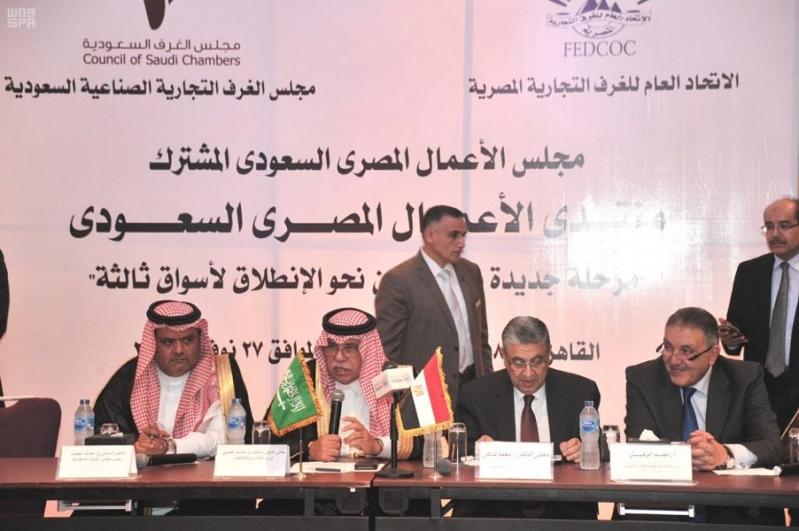 القصبي: 7.3 مليار دولار حجم التبادل التجاري مع مصر ولجنة مشتركة لإزالة المعوقات