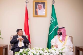 ولي العهد يلتقي نائب الرئيس الإندونيسي على هامش قمة العشرين - المواطن