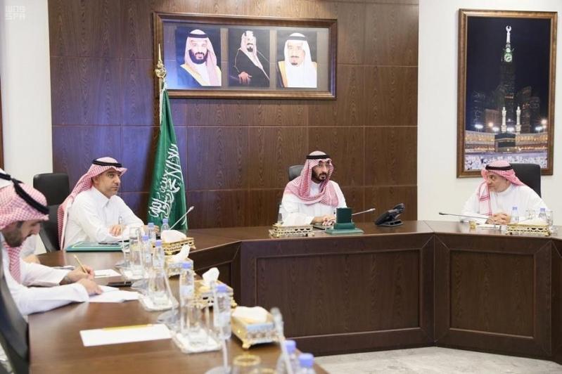 عبدالله بن بندر يتابع تأسيس المركز الوطني للمنشآت العائلية بجدة