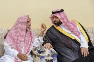 نائب أمير جازان ينقل تعازي القيادة لذوي الشهيد العريف المحنشي - المواطن