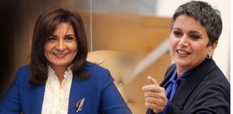 وزيرة مصرية ردًا على صفاء الهاشم : مات الكلام