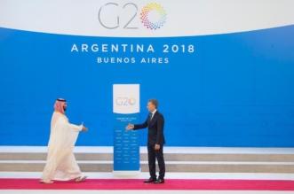 وصول ولي العهد إلى مقر قمة مجموعة العشرين في الأرجنتين - المواطن