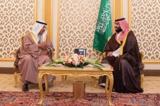 ولي العهد يستعرض مع رئيس الوزراء البحريني العلاقات الثنائية وتطورات المنطقة - المواطن