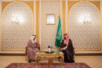 فيديو.. تطوير العلاقات الثنائية عنوان لقاء ولي العهد مع رئيس وزراء البحرين - المواطن