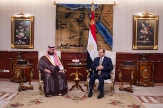 ولي العهد يستعرض العلاقات الثنائية وسبل تعزيزها مع السيسي - المواطن