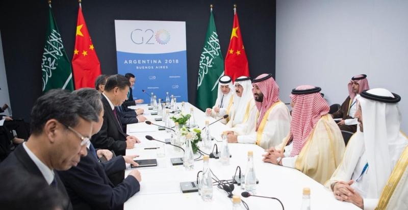 ولي العهد يلتقي الرئيس الصيني على هامش قمة مجموعة العشرين - المواطن