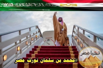 في بلدكم الثاني حللتم أهلًا ونزلتم سهلًا.. مصر ترحب بولي العهد على طريقتها - المواطن