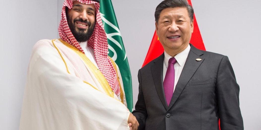 ولي العهد يلتقي الرئيس الصيني على هامش قمة مجموعة العشرين