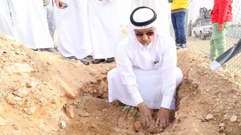 البيئة تبدأ المرحلة الثانية من تشجير طرق الرياض بزراعة 8 آلاف شجرة