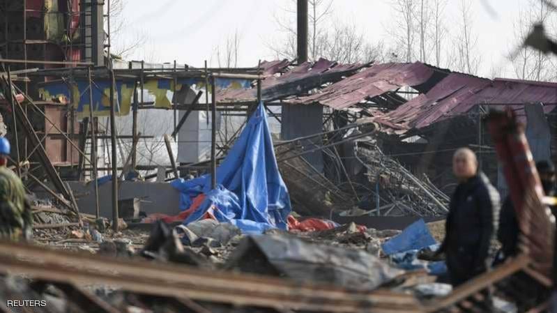 فيديو.. مقتل وإصابة 59 شخصاً بانفجار مصنع في الصين