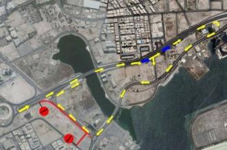 إغلاق شارع الأمانة بحي البغدادية في جدة - المواطن