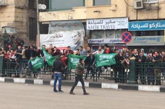 فيديو.. مصريون يهتفون لتحية ولي العهد .. إيد واحدة - المواطن