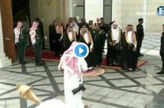 فيديو.. لحظة وصول الملك مقر مجلس الشورى - المواطن