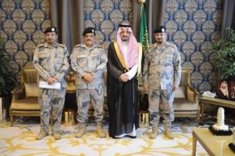 أمير عسير يقلد اللواء العتيبي رتبته الجديدة - المواطن