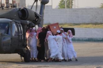 صور.. مشهد مهيب في تشييع الشهيد الشهري ببارق - المواطن