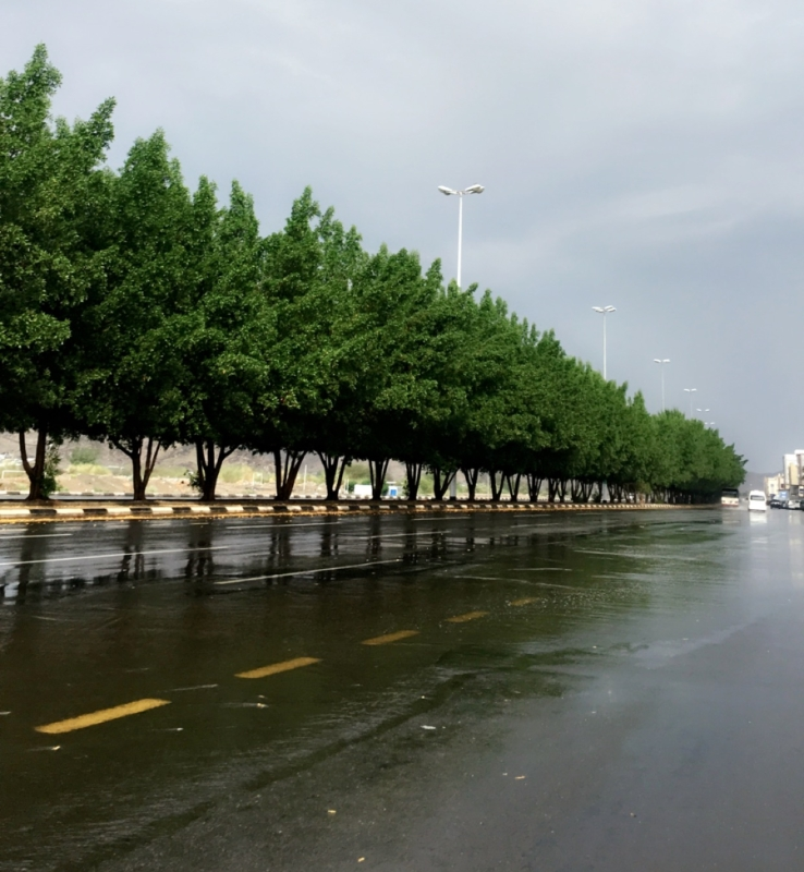 تحذير من أمطار الـ 10 ساعات على #مكة