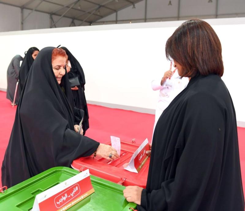 صور.. قرينة ملك البحرين تدلي بصوتها في الانتخابات - المواطن