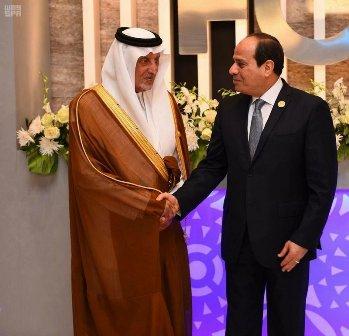 نيابة عن الملك.. الفيصل يشارك في افتتاح منتدى شباب العالم بشرم الشيخ