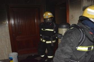 صور.. نشوب حريق بشقة في جدة نتيجة تسرب الغاز - المواطن
