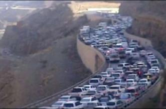 فيديو.. هكذا بدت عقبة ضلع قبل وبعد التنظيم المروري - المواطن