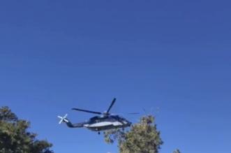 طيران الأمن يباشر انتشال جثة مفقود بمتنزهات السودة - المواطن