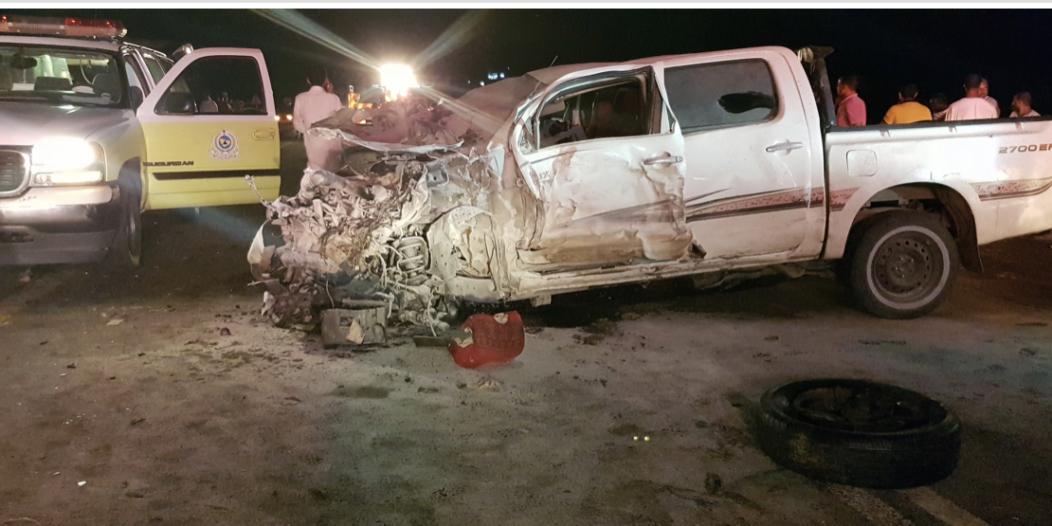 حادث مروري مروع يقتل شخصين ويصيب 4 آخرين في المجاردة