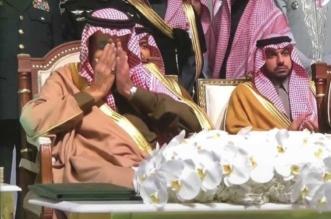 فيديو.. تأثر الملك بقصيدة حاكم العواجي بحفل أهالي الشمالية - المواطن