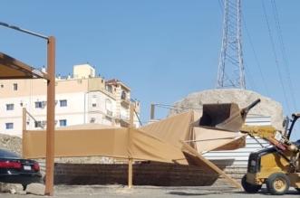 مكة المكرمة .. إزالة 10 مظلات سيارات خطرة ومُخالفة - المواطن