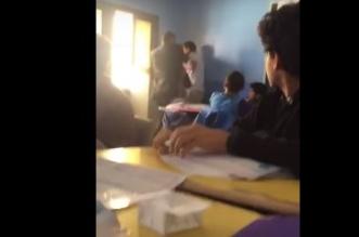 لجنة التحقيق في واقعة امنع الصوت تصل المدرسة الأهلية بعسير - المواطن