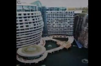 فيديو.. فندق تحت الأرض يضاهي ناطحات السحاب - المواطن