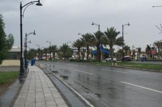فيديو وصور.. أمطار غدق تصل جدة - المواطن
