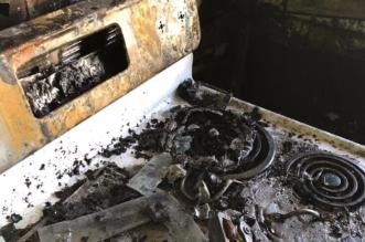 صور.. إصابة طبيب في حريق سكن الأطباء بمستشفى شرورة - المواطن
