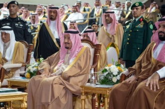 شاهد بالصور .. إحتفاء أهالي حائل بالملك سلمان - المواطن