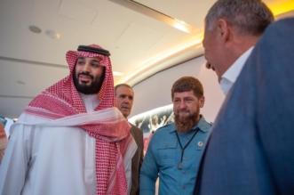ولي العهد يلتقي ملك إسبانيا السابق ورئيس الشيشان وولي عهد دبي - المواطن
