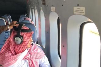 عبر طيران الأمن.. نائب أمير الشرقية يتفقد آثار الأمطار - المواطن