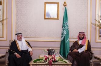 ولي العهد يبحث مع ولي عهد البحرين سبل تعزيز العلاقات الثنائية - المواطن