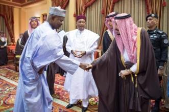 الملك يستقبل رئيس النيجر ويقيم مأدبة غداء تكريماً له - المواطن