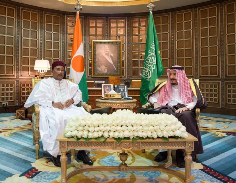 الملك يستعرض آفاق التعاون الثنائي مع رئيس النيجر